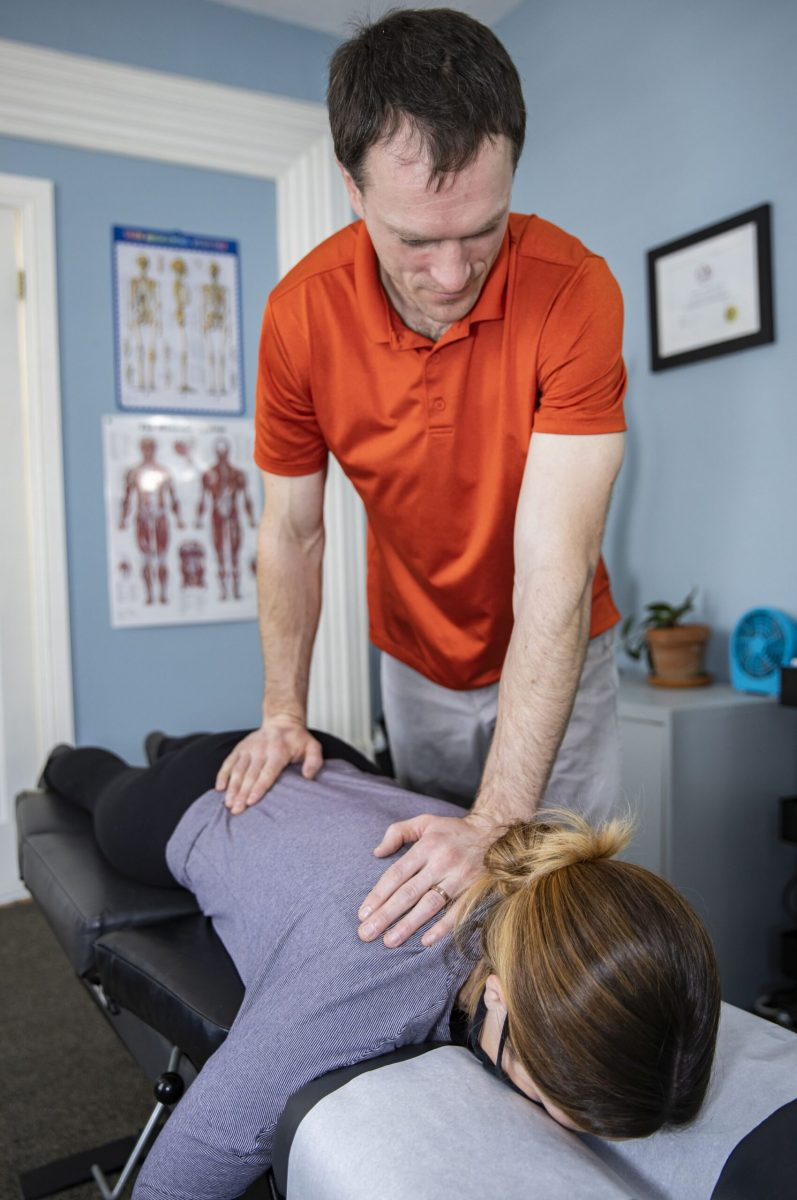General mobilization of the spine