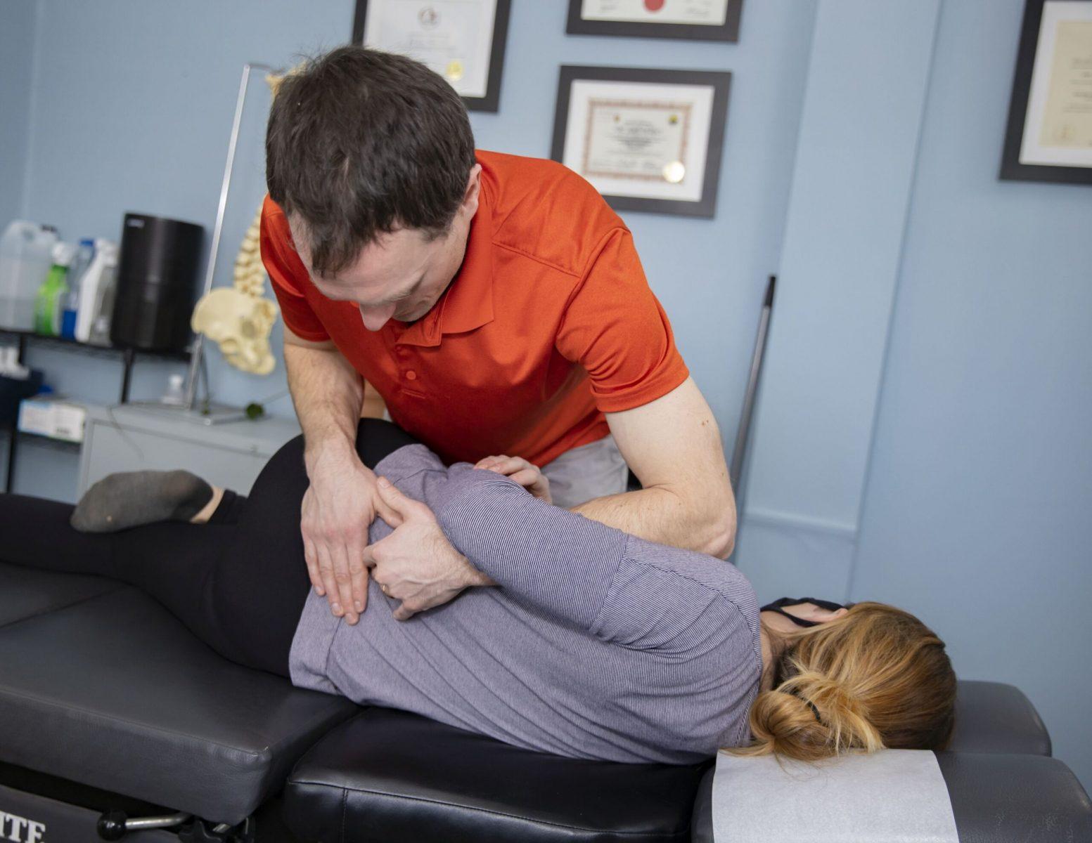 Lumbar (low back) adjustment